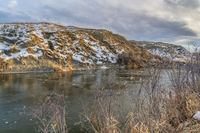 lower Poudre River in northern Colorado