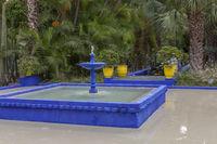 Jardin Majorelle in Marrakesch, Marokko