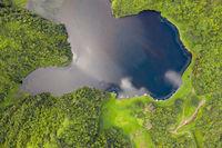 Vaihiria See, Papenoo Valley, Tahiti, Franzoesisch-Polynesien