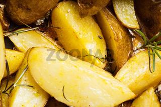 Rusic style baked potato
