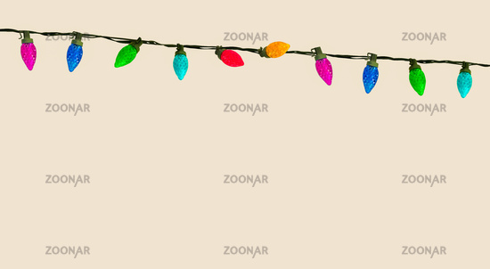 String Of Christmas Or Party Lights
