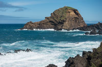 Mole islet in Porto Moniz in Madeira