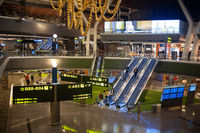 Doha, Katar, Innenaufnahme am Flughafen Hamad International Airport