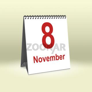 November 8th   8.November
