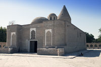 Chashma-Ayub Mausoleum (The Spring of Holy Ayub) in Bukhara, Uzbekistan. It consists of the mausoleu