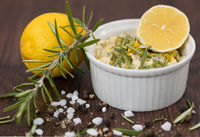 Butter with lemon peel and rosemary 2