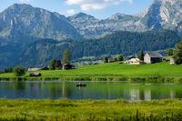 Toggenburg in der Schweiz