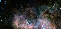 Science fiction space wallpaper. Elements of this image furnished by NASA