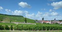 Oger in Champagne region near Epernay,France
