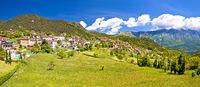 Idyllic village of Vesio in Dolomites Alps above Limone sul Garda