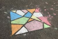 children chalk art heart lockdown coronavirus amsterdam