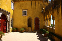View of Palace da Pena - Sintra, Lisbon, Portugal - European travel