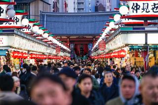 Nakamise street of Tokyo Asakusa