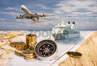 Weltweite Reisen und Finanzen