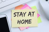 Stay at home Coronavirus corona virus doctor ill illness desk
