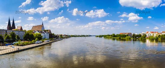High water at River Oder, Frankfurt/Oder, Germany