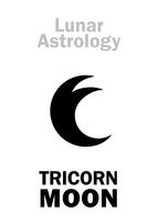 Astrology: Three-horned MOON
