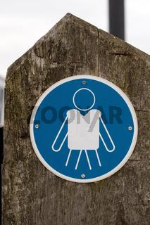 Schilder auf Insel Poel 001