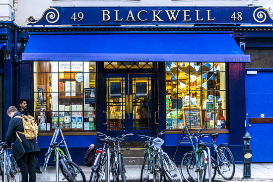 The famous Blackwell bookshop