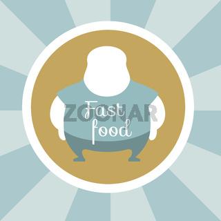 Fast Food Illustration.
