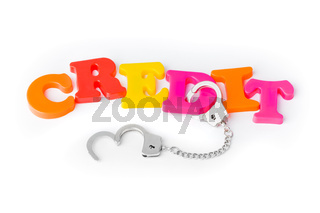 Credit and handcuffs