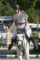 Horse Jumping Class S* in Darmstadt Kranichstein with Spectators
