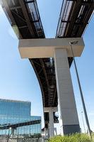 High-speed railway at Frankfurt Airport