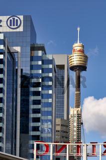 The Sydney Tower Centrepoint. Australia
