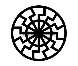 black sun symbol