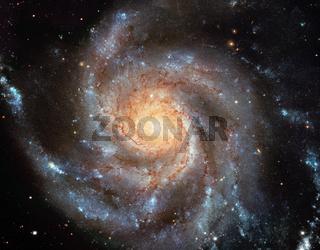 Pinwheel Galaxy - M101 Spiral Galaxy