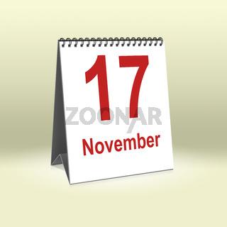 November 17th   17.November