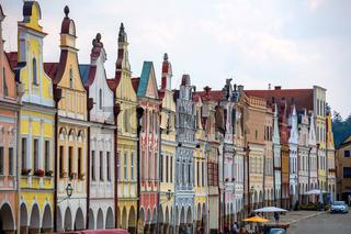 Tschechien, Telc, Stadtplatz