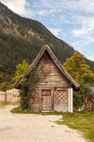 Wooden hut from the film Wickie und die strong men.