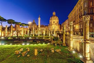 Die Ruinen des Trajansforums