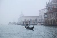 Gondola in Fog
