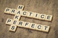 practice makes perfect crossword