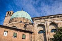 Padua, Italy - March 19, 2019 - Dome of the Basilica of Santa Maria of Carmine