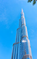 Burj Khalifa building in Downtown Dubai