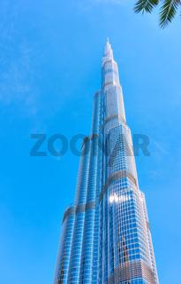 Burj Khalifa building in Downtown Dubai