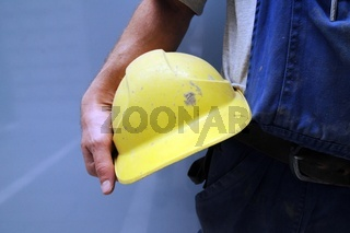 safety helmet as protection for the head