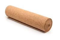 Cork flooring underlayment roll