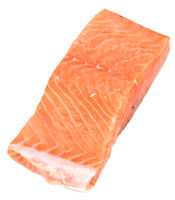 Piece of red fish