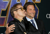 Robert Downey Jr. and Bradley Cooper