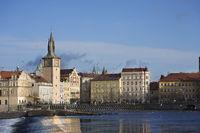 Blue Sky City of Prague