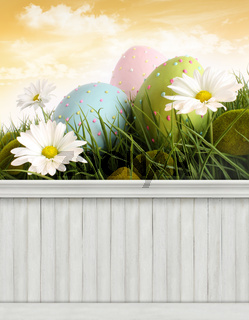 Happy Easter Spring background/backdrop