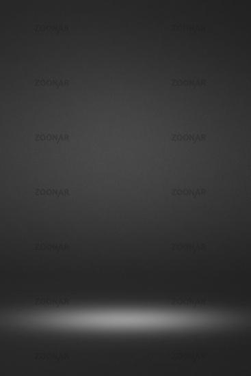 Empty black interior background