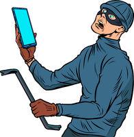 The masked robber. Burglar