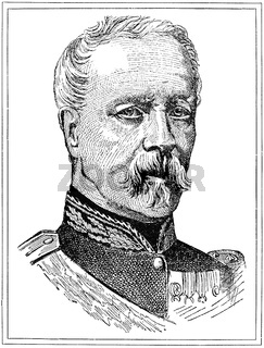 Portrait of Patrice de MacMahon - a French general and politician