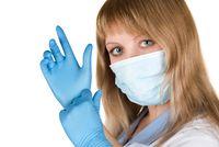 Flu epidemic concept