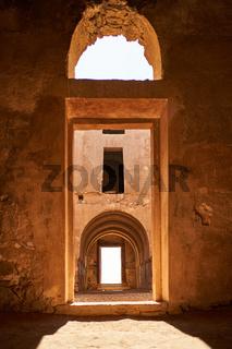 Wüstenschloss Qasr Kharana  Innenansicht